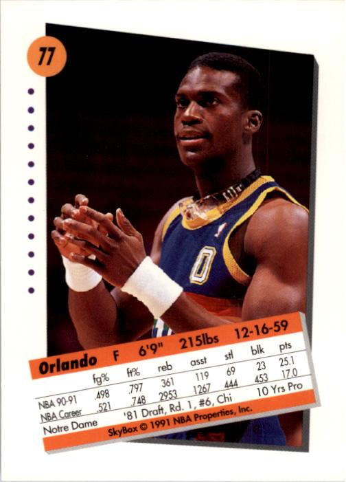 thumbnail 155 - 1991-92 SkyBox Basketball Card Pick 1-250