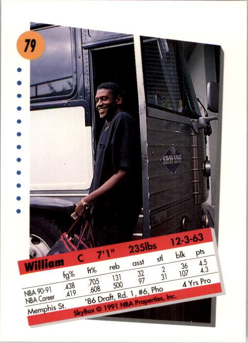 thumbnail 159 - 1991-92 SkyBox Basketball Card Pick 1-250