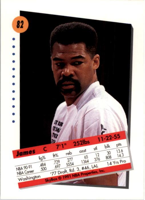 thumbnail 165 - 1991-92 SkyBox Basketball Card Pick 1-250