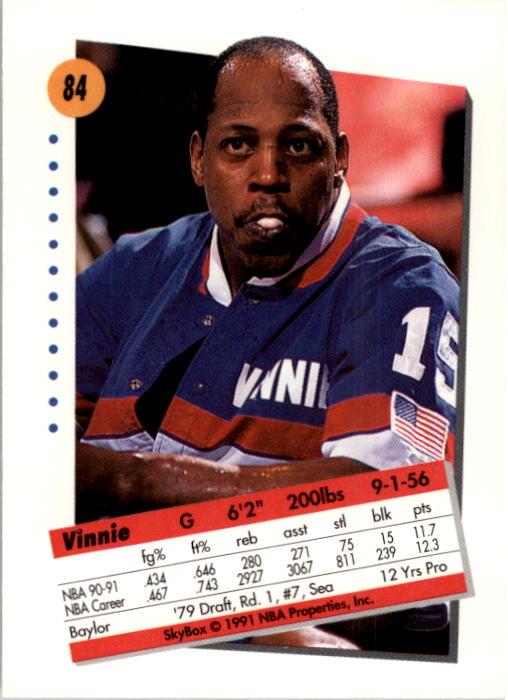thumbnail 169 - 1991-92 SkyBox Basketball Card Pick 1-250