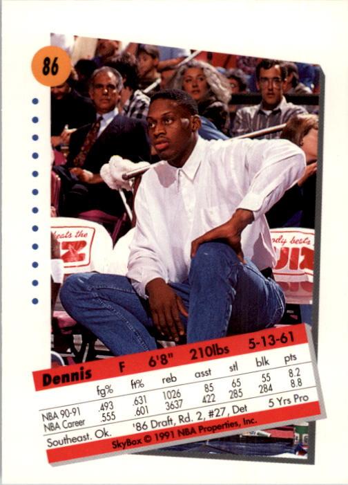 thumbnail 173 - 1991-92 SkyBox Basketball Card Pick 1-250