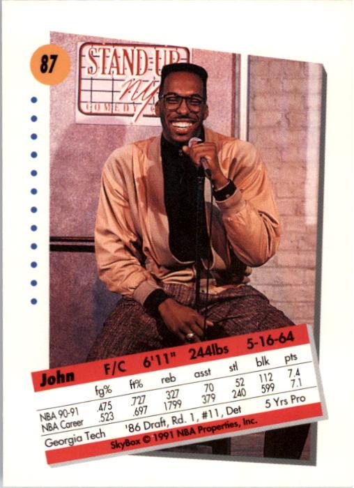 thumbnail 175 - 1991-92 SkyBox Basketball Card Pick 1-250