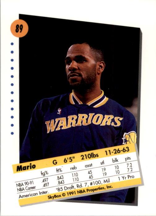 thumbnail 177 - 1991-92 SkyBox Basketball Card Pick 1-250