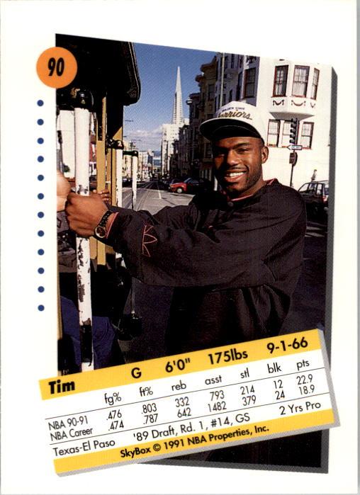 thumbnail 179 - 1991-92 SkyBox Basketball Card Pick 1-250