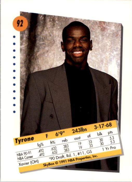 thumbnail 183 - 1991-92 SkyBox Basketball Card Pick 1-250