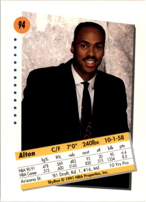 thumbnail 185 - 1991-92 SkyBox Basketball Card Pick 1-250