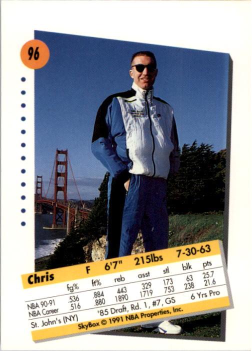 thumbnail 189 - 1991-92 SkyBox Basketball Card Pick 1-250