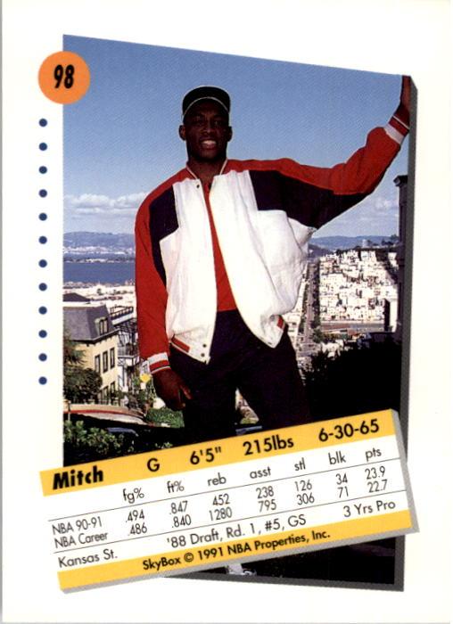 thumbnail 193 - 1991-92 SkyBox Basketball Card Pick 1-250