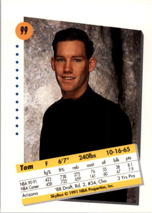 thumbnail 195 - 1991-92 SkyBox Basketball Card Pick 1-250