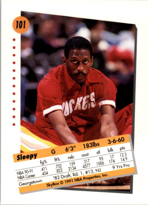 thumbnail 199 - 1991-92 SkyBox Basketball Card Pick 1-250