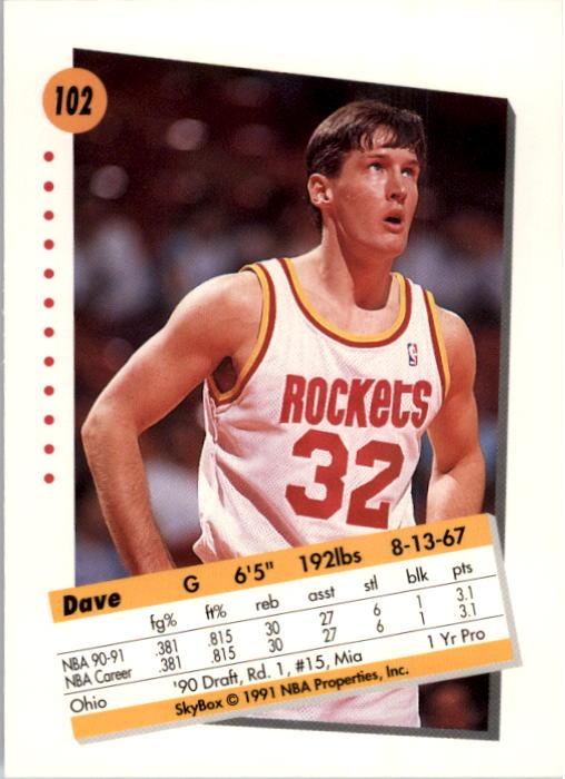 thumbnail 201 - 1991-92 SkyBox Basketball Card Pick 1-250