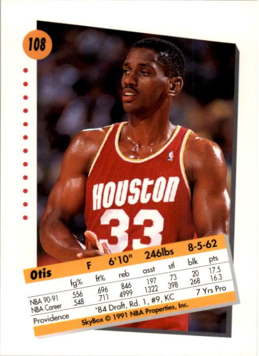 thumbnail 213 - 1991-92 SkyBox Basketball Card Pick 1-250