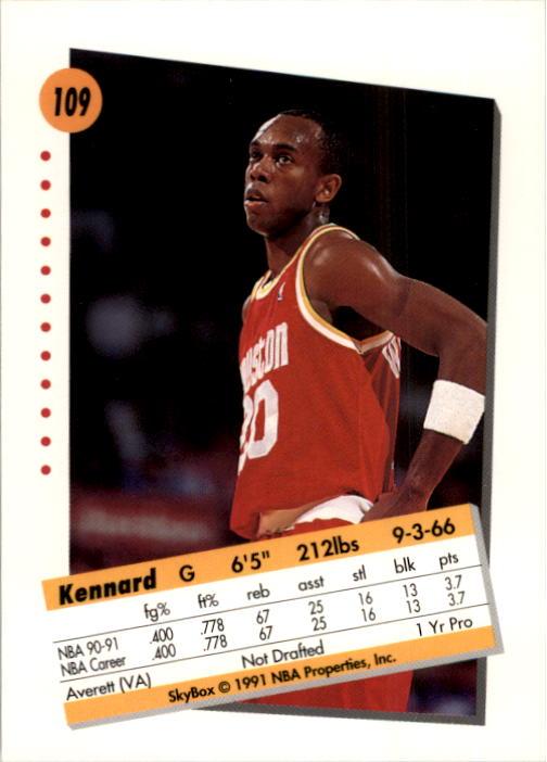 thumbnail 215 - 1991-92 SkyBox Basketball Card Pick 1-250