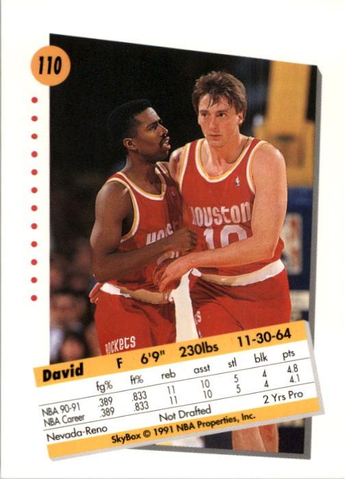 thumbnail 217 - 1991-92 SkyBox Basketball Card Pick 1-250