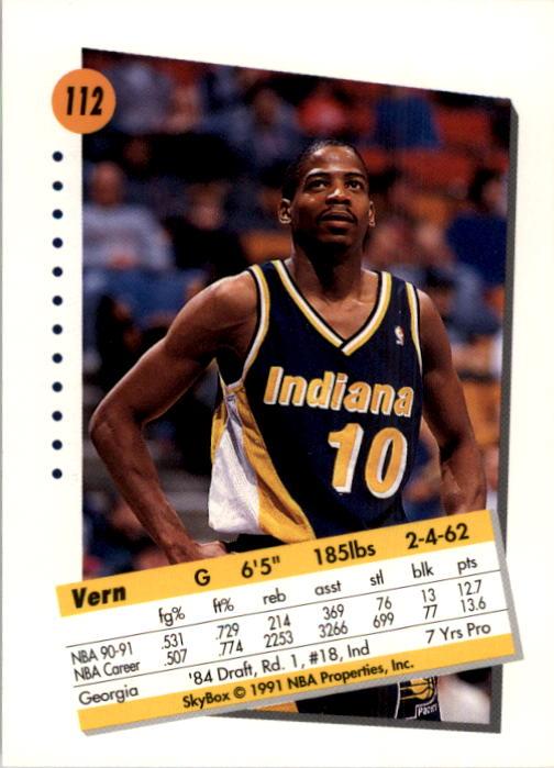 thumbnail 221 - 1991-92 SkyBox Basketball Card Pick 1-250