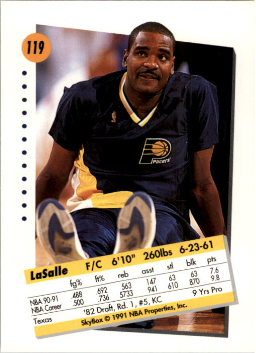 thumbnail 235 - 1991-92 SkyBox Basketball Card Pick 1-250