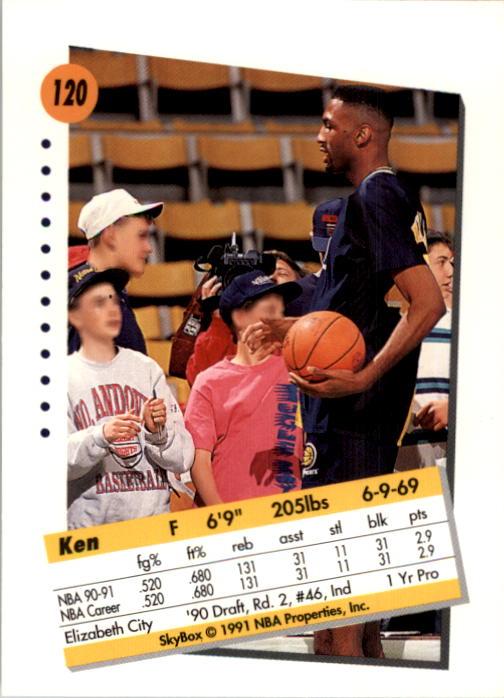 thumbnail 237 - 1991-92 SkyBox Basketball Card Pick 1-250