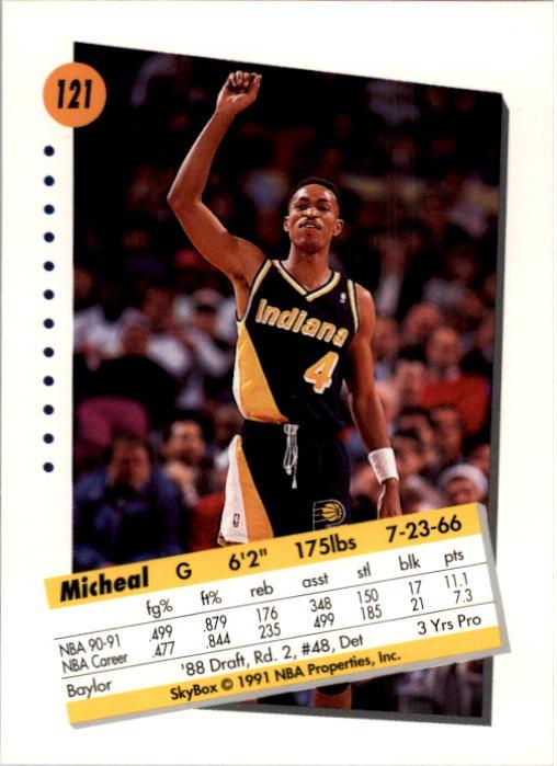 thumbnail 239 - 1991-92 SkyBox Basketball Card Pick 1-250
