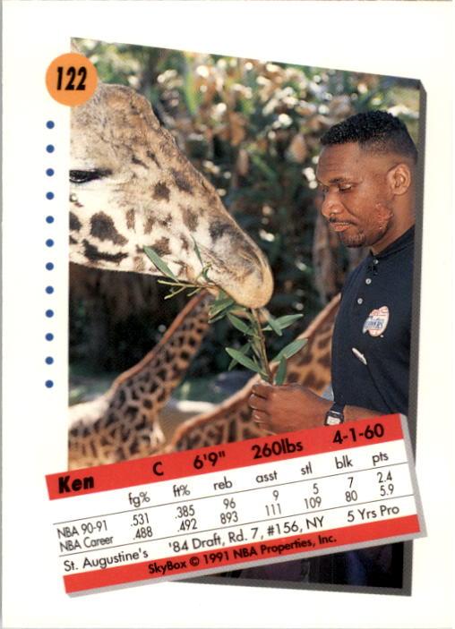 thumbnail 241 - 1991-92 SkyBox Basketball Card Pick 1-250