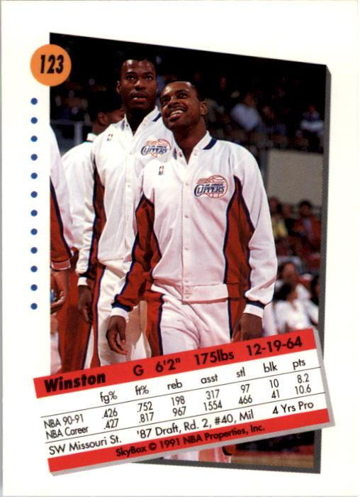 thumbnail 243 - 1991-92 SkyBox Basketball Card Pick 1-250