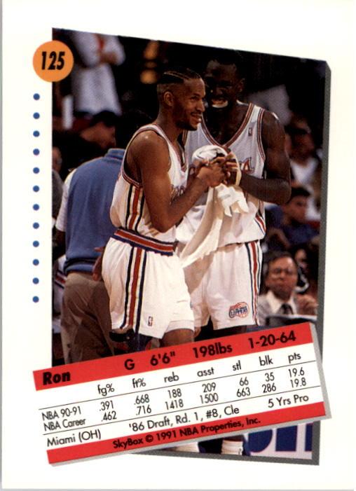 thumbnail 247 - 1991-92 SkyBox Basketball Card Pick 1-250