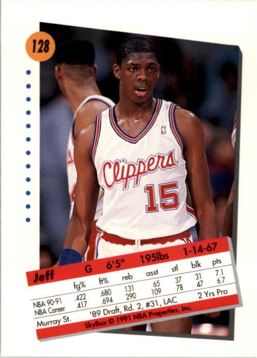 thumbnail 253 - 1991-92 SkyBox Basketball Card Pick 1-250