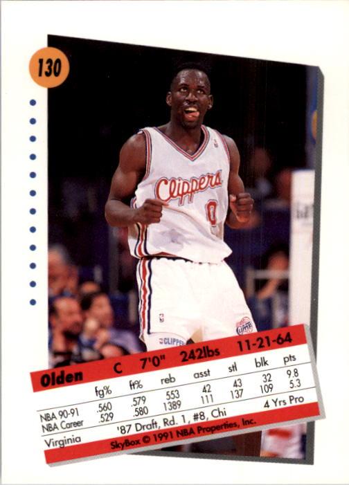 thumbnail 257 - 1991-92 SkyBox Basketball Card Pick 1-250