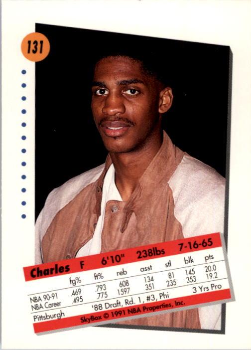 thumbnail 259 - 1991-92 SkyBox Basketball Card Pick 1-250