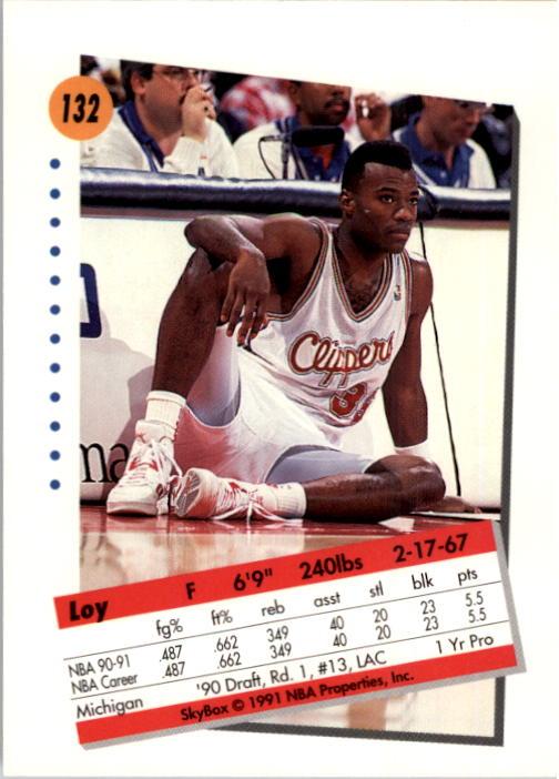 thumbnail 261 - 1991-92 SkyBox Basketball Card Pick 1-250