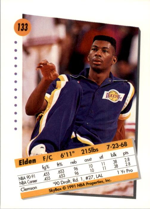 thumbnail 263 - 1991-92 SkyBox Basketball Card Pick 1-250
