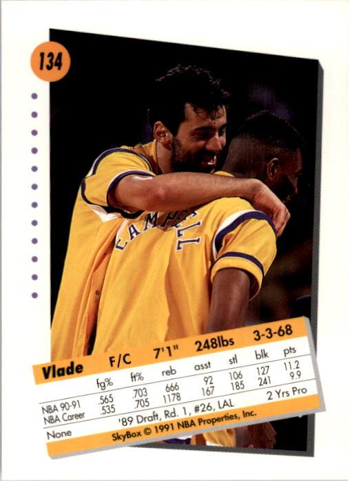 thumbnail 265 - 1991-92 SkyBox Basketball Card Pick 1-250