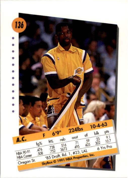thumbnail 269 - 1991-92 SkyBox Basketball Card Pick 1-250