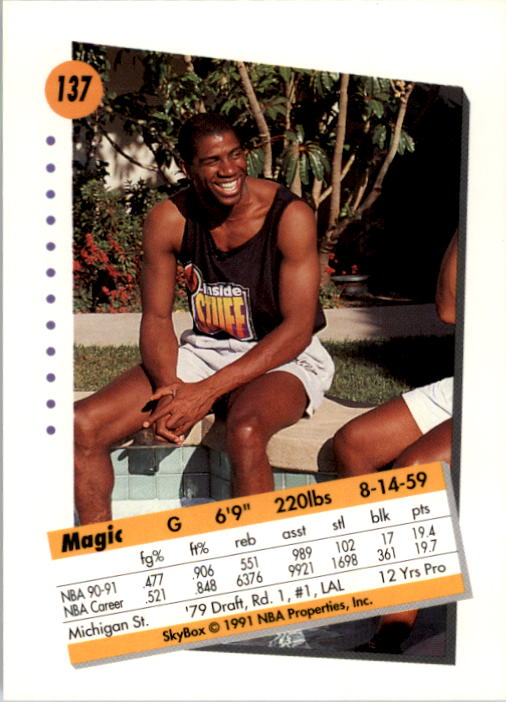 thumbnail 271 - 1991-92 SkyBox Basketball Card Pick 1-250