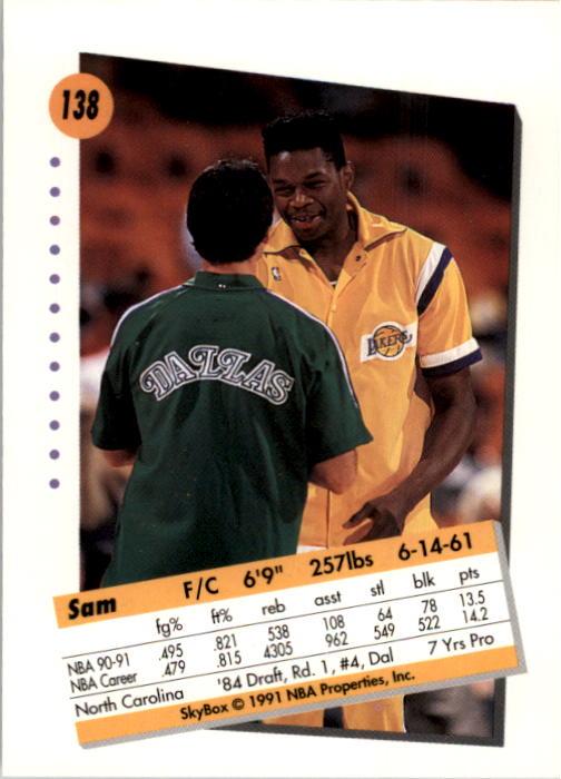 thumbnail 273 - 1991-92 SkyBox Basketball Card Pick 1-250