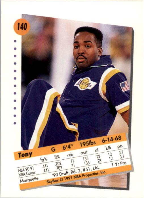 thumbnail 277 - 1991-92 SkyBox Basketball Card Pick 1-250