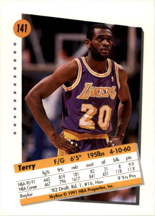 thumbnail 279 - 1991-92 SkyBox Basketball Card Pick 1-250