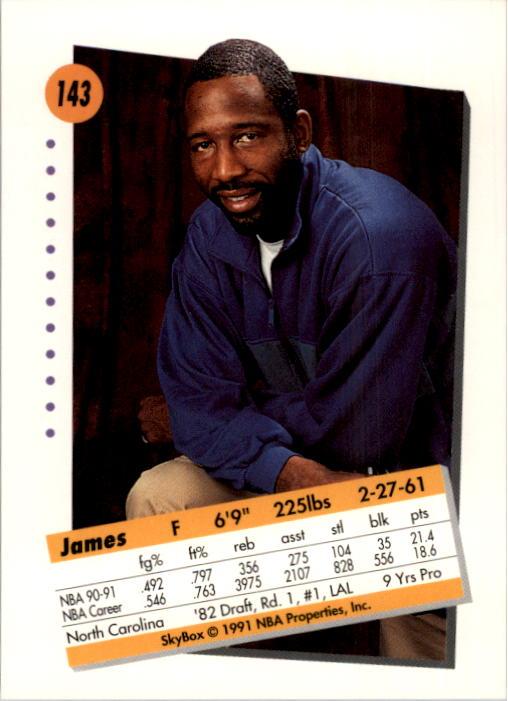 thumbnail 283 - 1991-92 SkyBox Basketball Card Pick 1-250