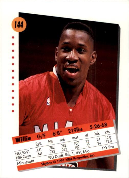 thumbnail 285 - 1991-92 SkyBox Basketball Card Pick 1-250