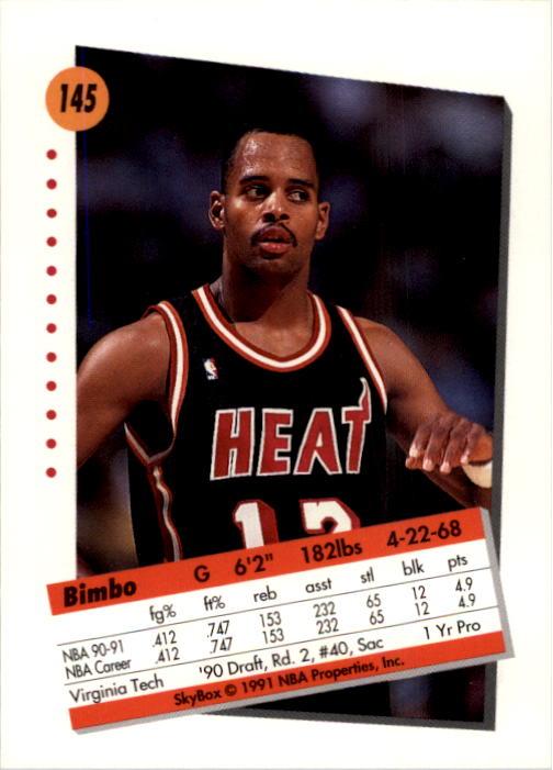 thumbnail 287 - 1991-92 SkyBox Basketball Card Pick 1-250