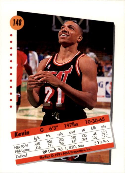 thumbnail 293 - 1991-92 SkyBox Basketball Card Pick 1-250