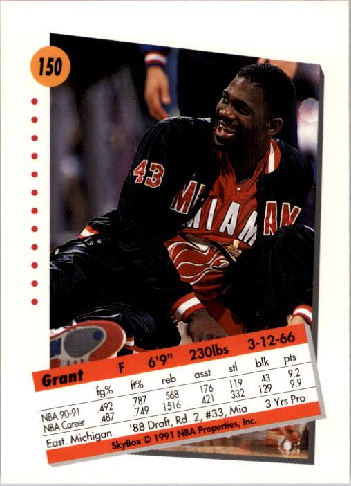 thumbnail 297 - 1991-92 SkyBox Basketball Card Pick 1-250