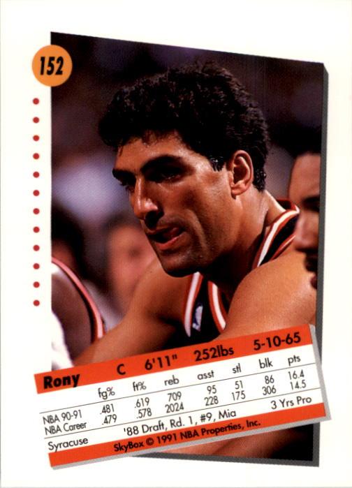 thumbnail 301 - 1991-92 SkyBox Basketball Card Pick 1-250