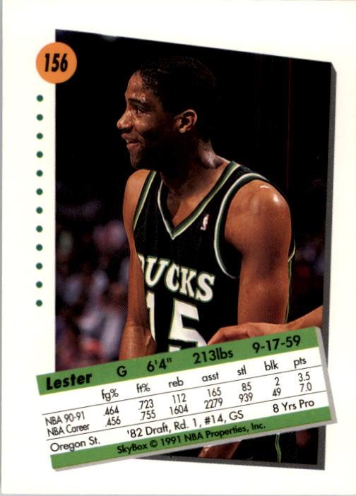 thumbnail 307 - 1991-92 SkyBox Basketball Card Pick 1-250
