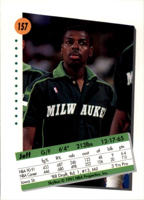 thumbnail 309 - 1991-92 SkyBox Basketball Card Pick 1-250