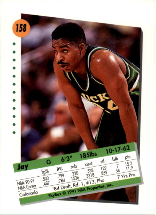 thumbnail 311 - 1991-92 SkyBox Basketball Card Pick 1-250