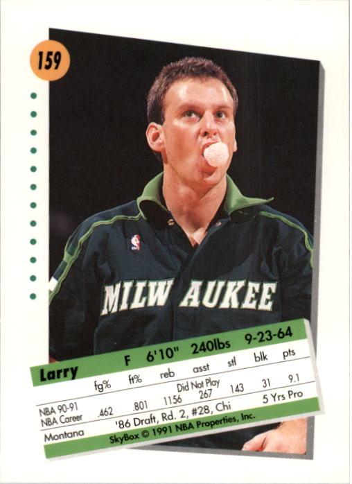 thumbnail 313 - 1991-92 SkyBox Basketball Card Pick 1-250