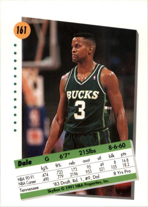 thumbnail 317 - 1991-92 SkyBox Basketball Card Pick 1-250