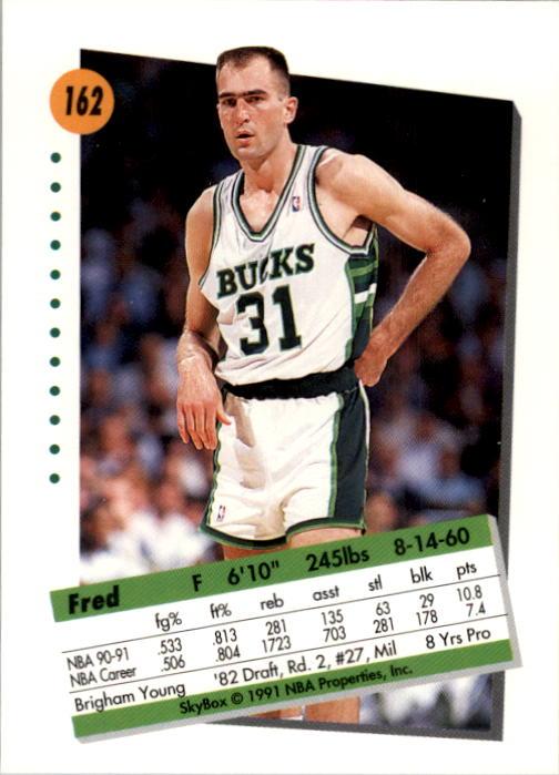 thumbnail 319 - 1991-92 SkyBox Basketball Card Pick 1-250