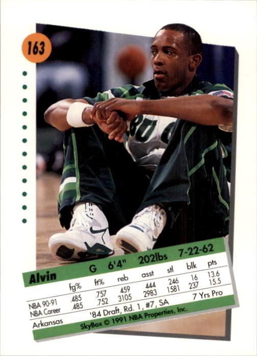 thumbnail 321 - 1991-92 SkyBox Basketball Card Pick 1-250