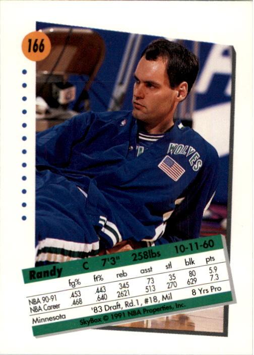 thumbnail 327 - 1991-92 SkyBox Basketball Card Pick 1-250